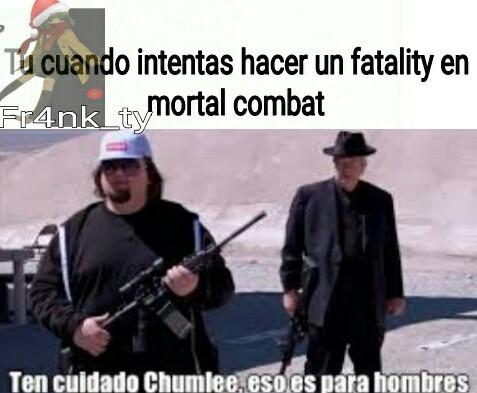 Vamos a por el mortal Kombat 11 - meme