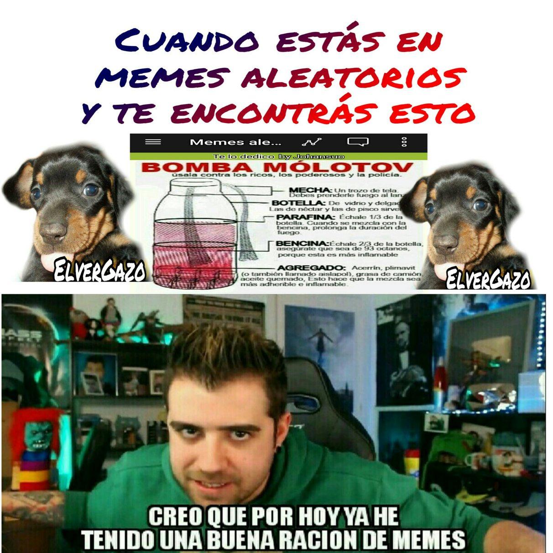 Bomba Molotov - meme