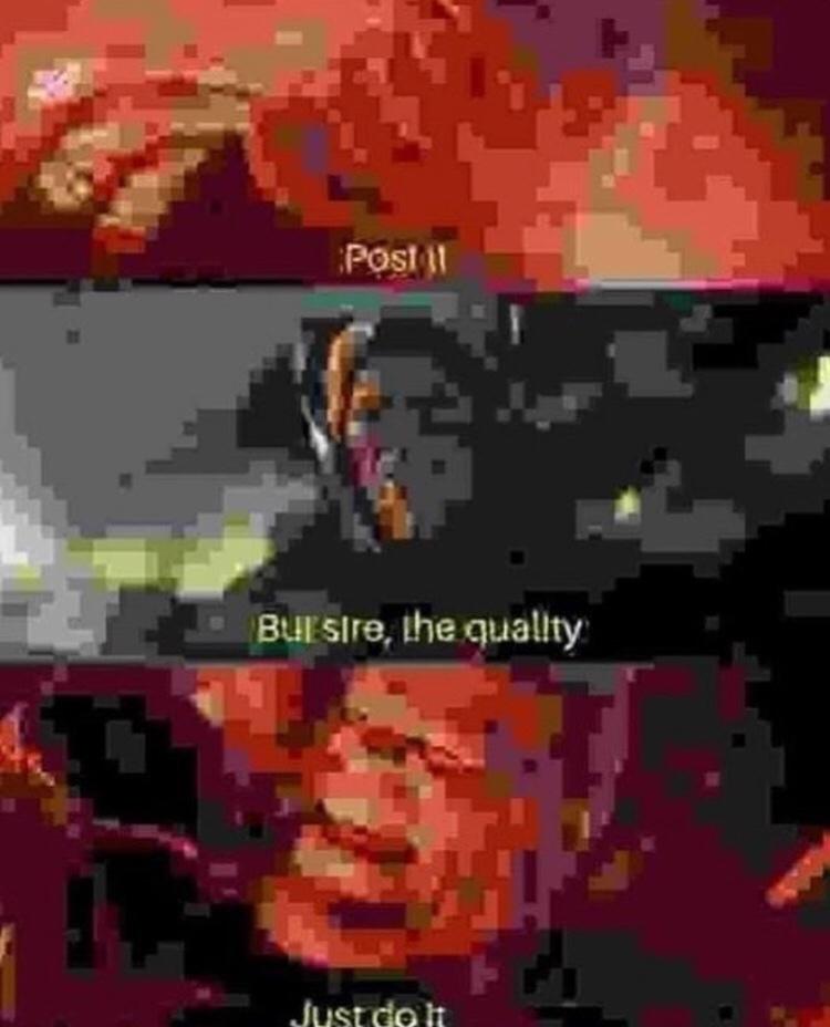 Nike symbol *appears* - meme