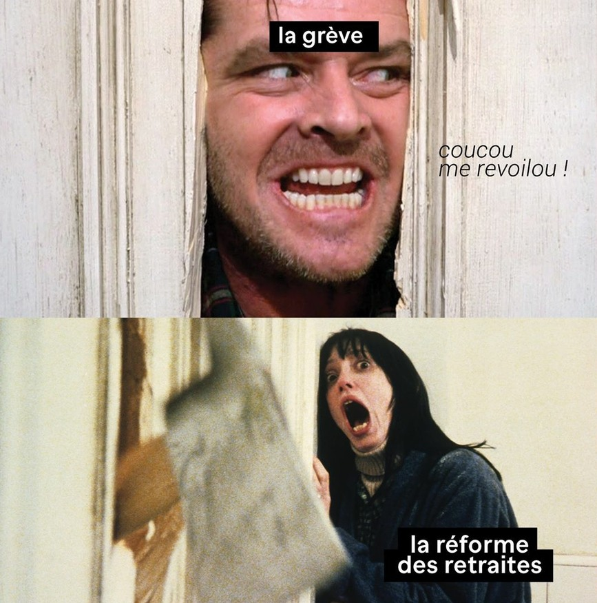 Grève.ಠಗಠ - meme