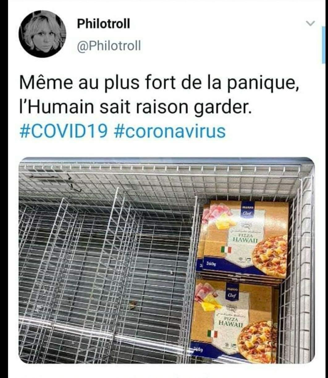 Pizza à l'ananas :0 - meme