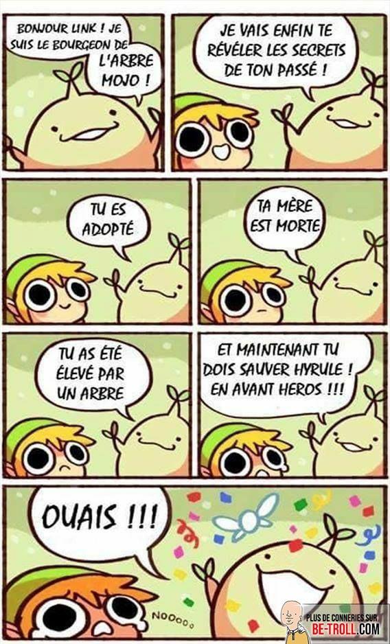 Zelda si joyeux - meme