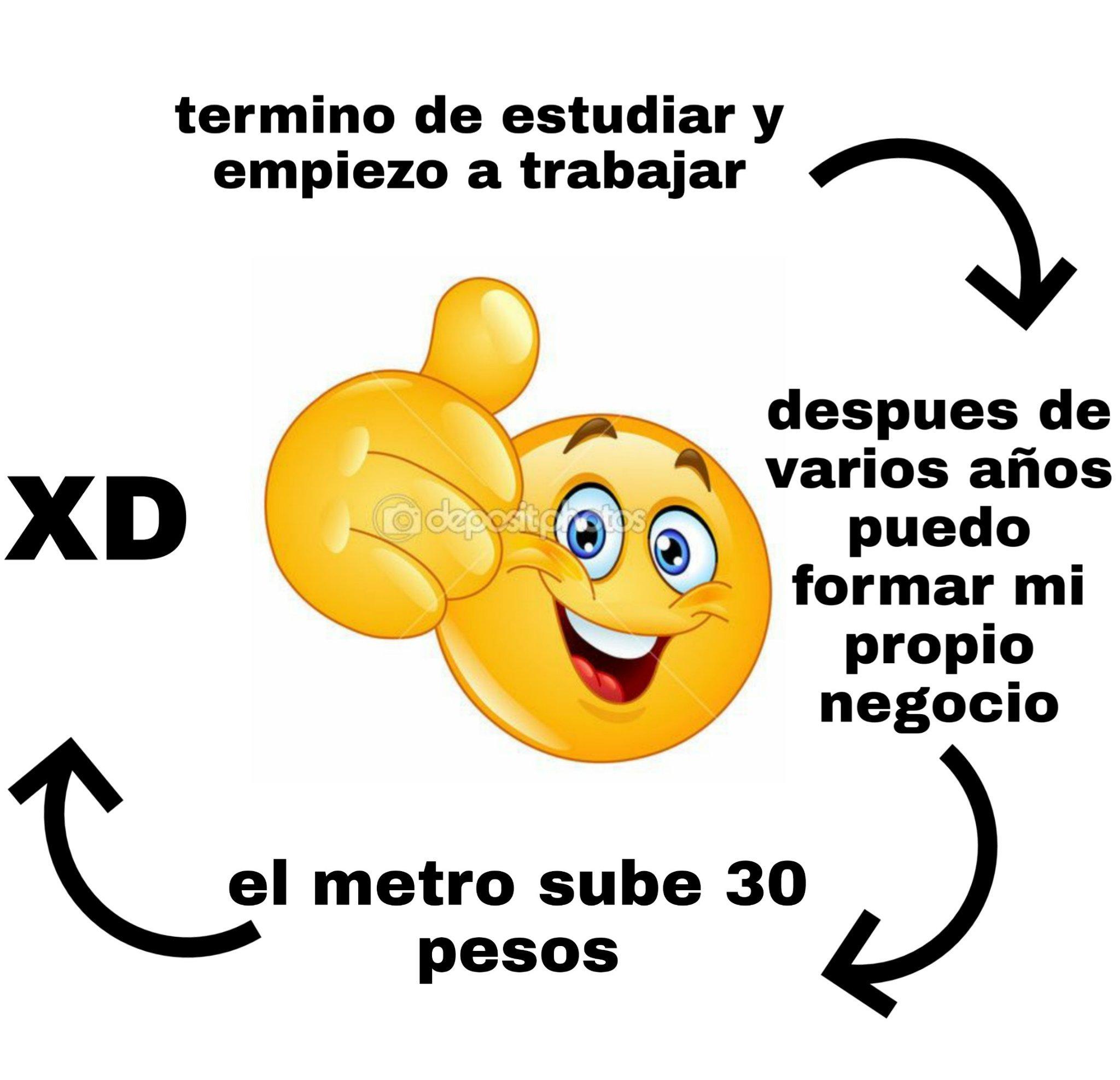 Protestas chilenas - meme