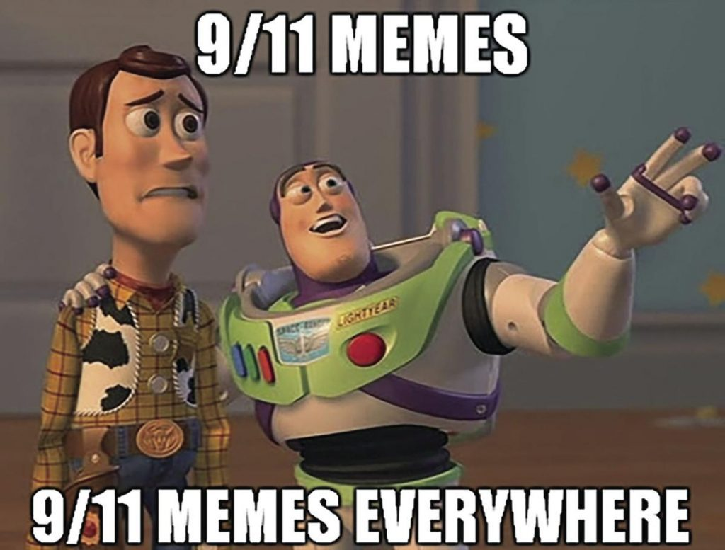 9/11 memes all day