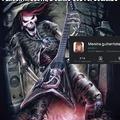 Hmm será que ela é do rock?
