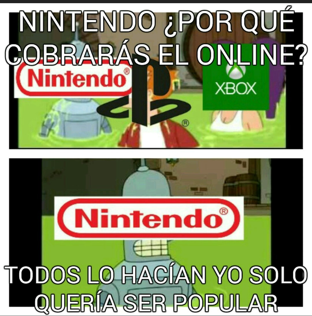 Nintendo NOOOOOO - meme