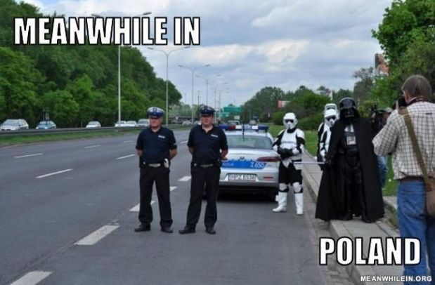 Just an average day in poland. - meme