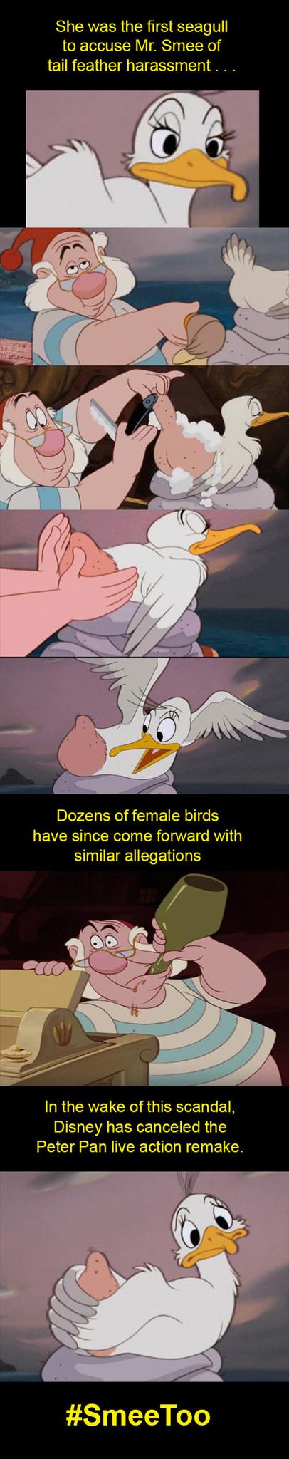 Smee's scandal - meme