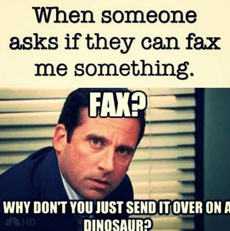 FAX - meme
