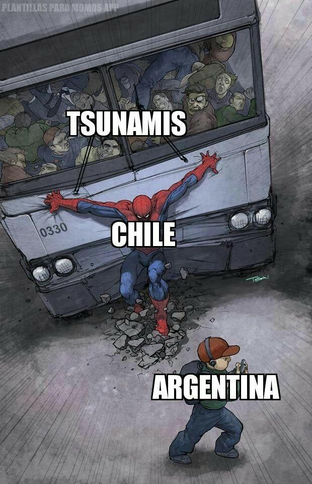 Gracias chile po wn - meme