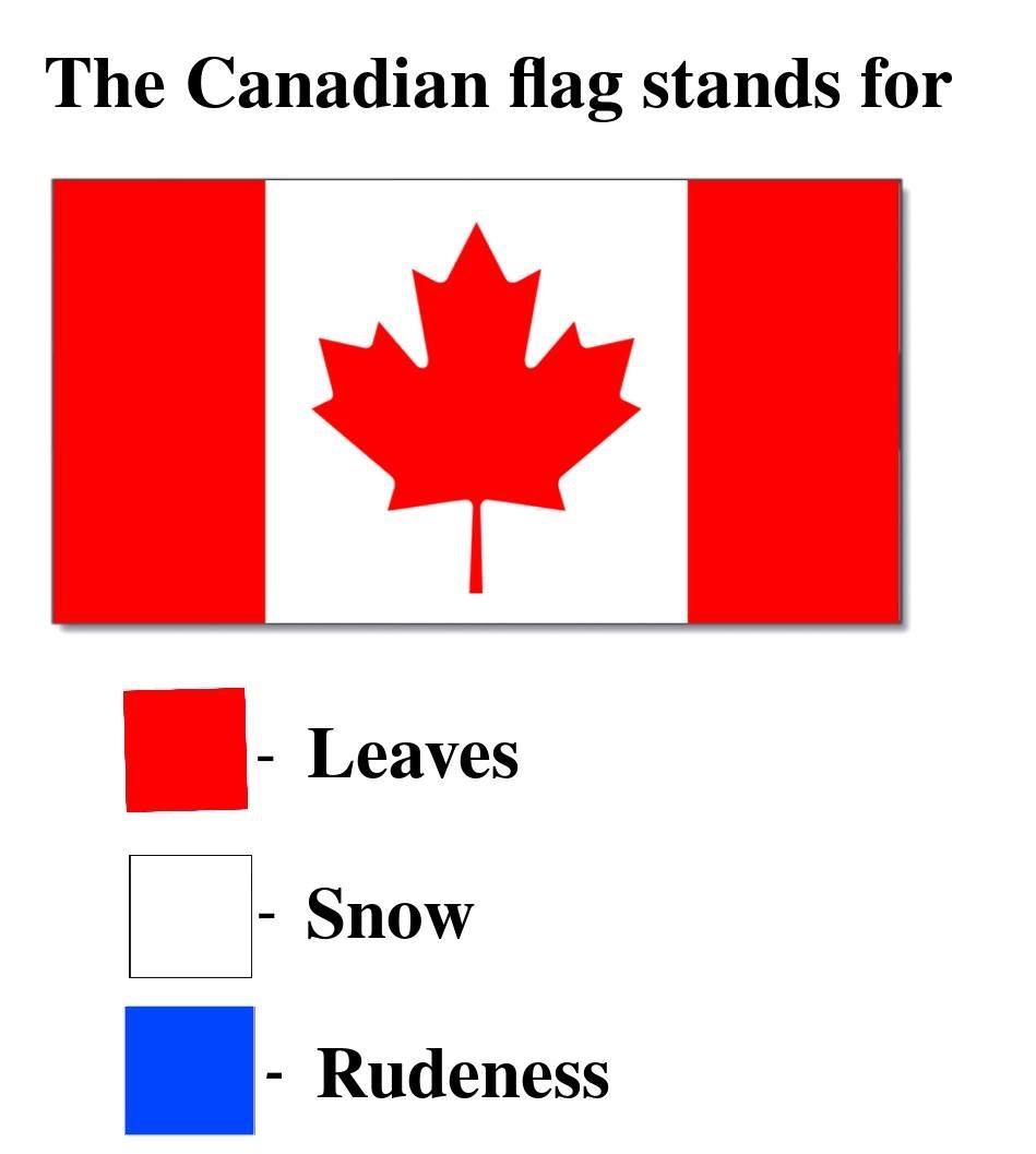Sorry Canada - meme