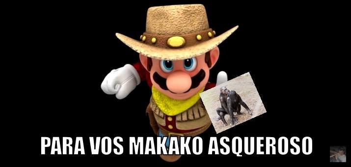 para vos makako asqueroso - meme