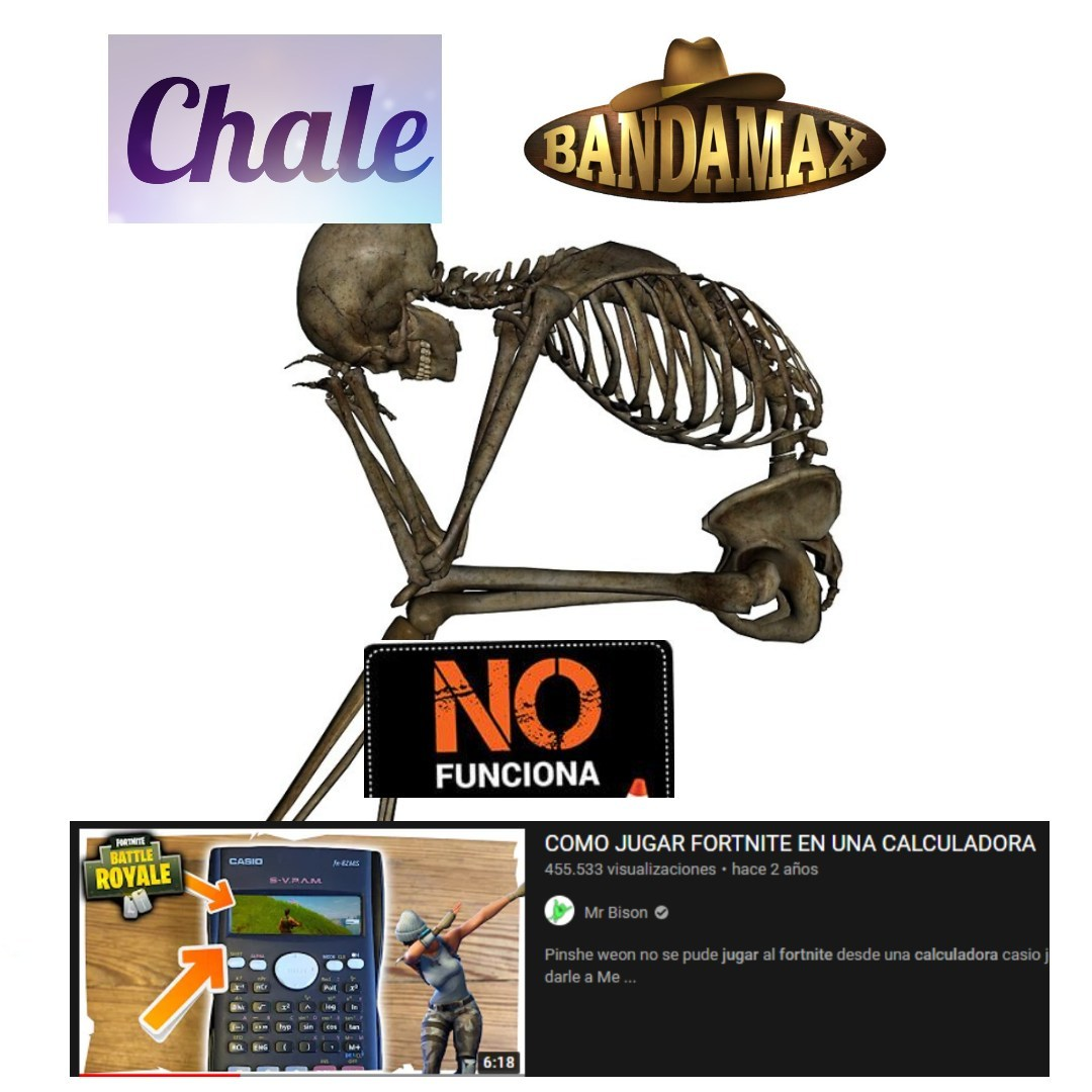 CALACAS CHIDAS - meme
