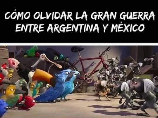 Fue un triste episodio para argentina - meme