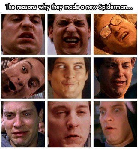 tobey maguire is my life - meme