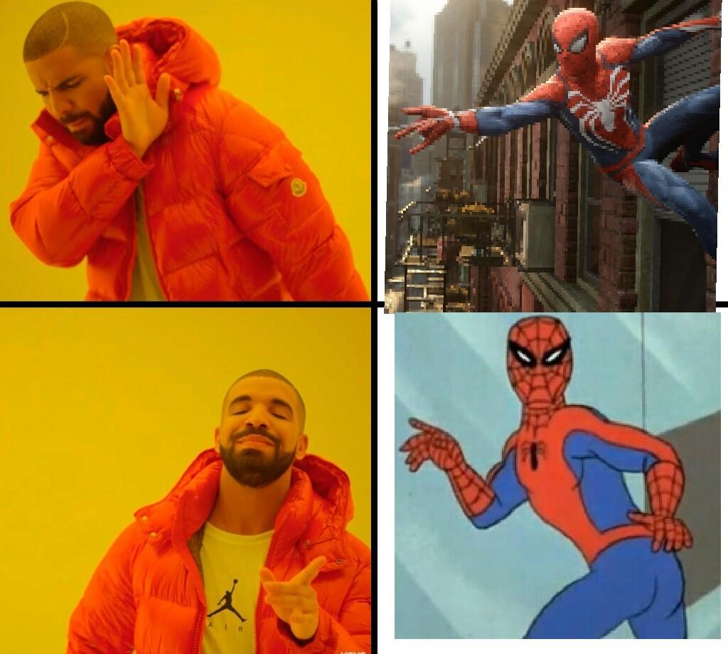 Forever spidey - meme