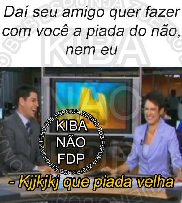 Evaristo Costa - Que Piada Velha - meme