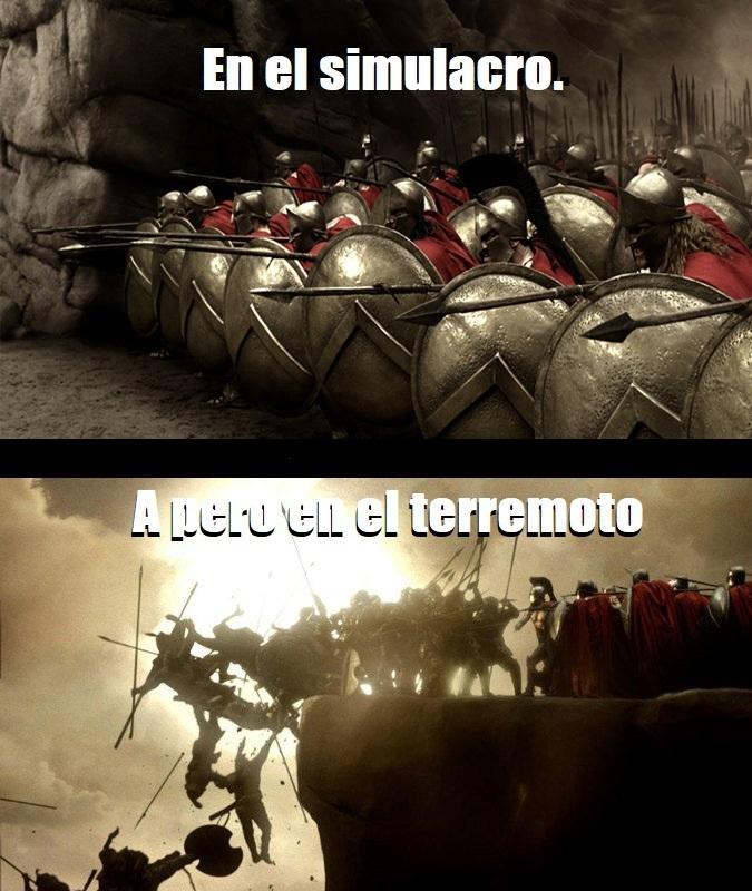 Esto es Espartaaaaa - meme