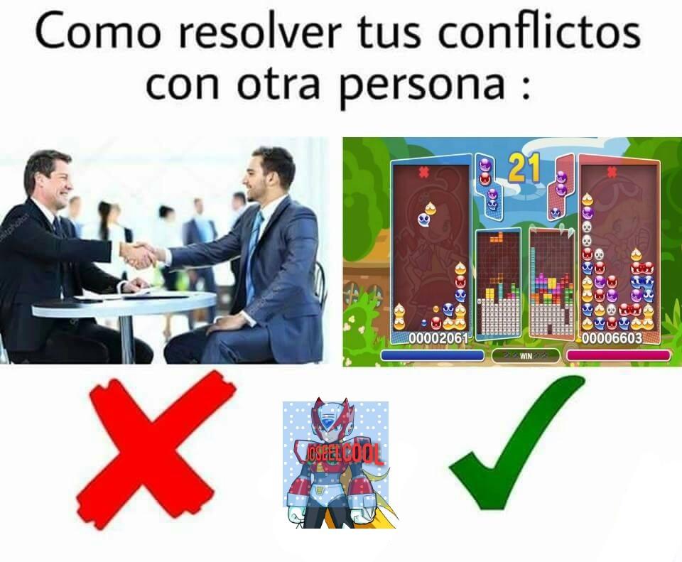 Puyo Puyo Tetris - meme