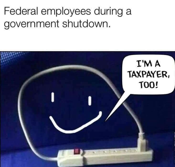 Keep it shut down - meme