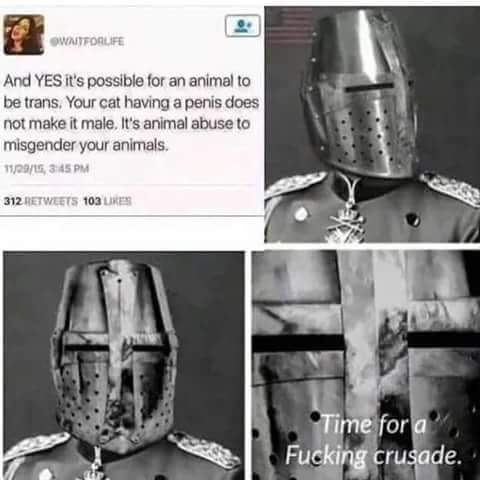 More crusades - meme
