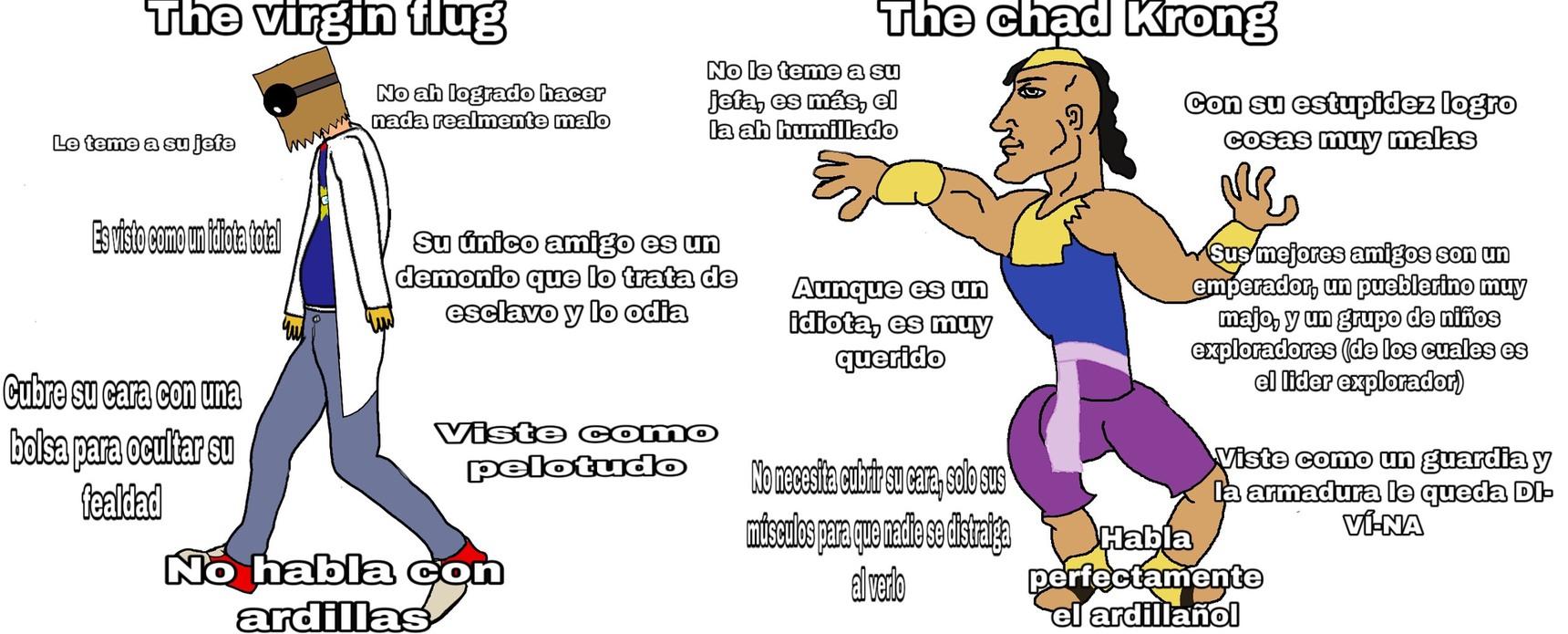 primer virgin vs Chad (y puede que hayan más) - meme