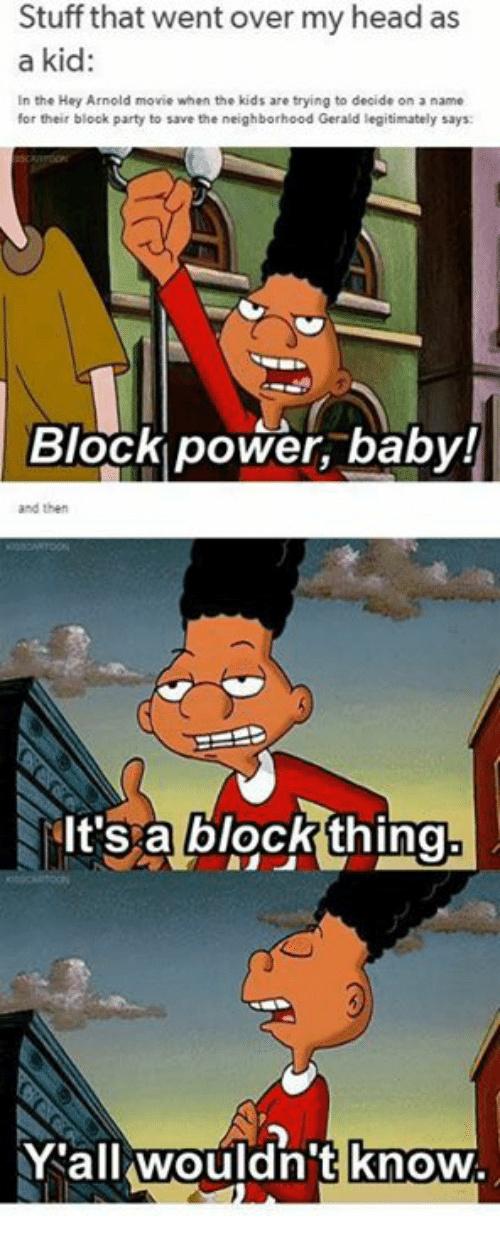 The jokes we never understood as kids - meme