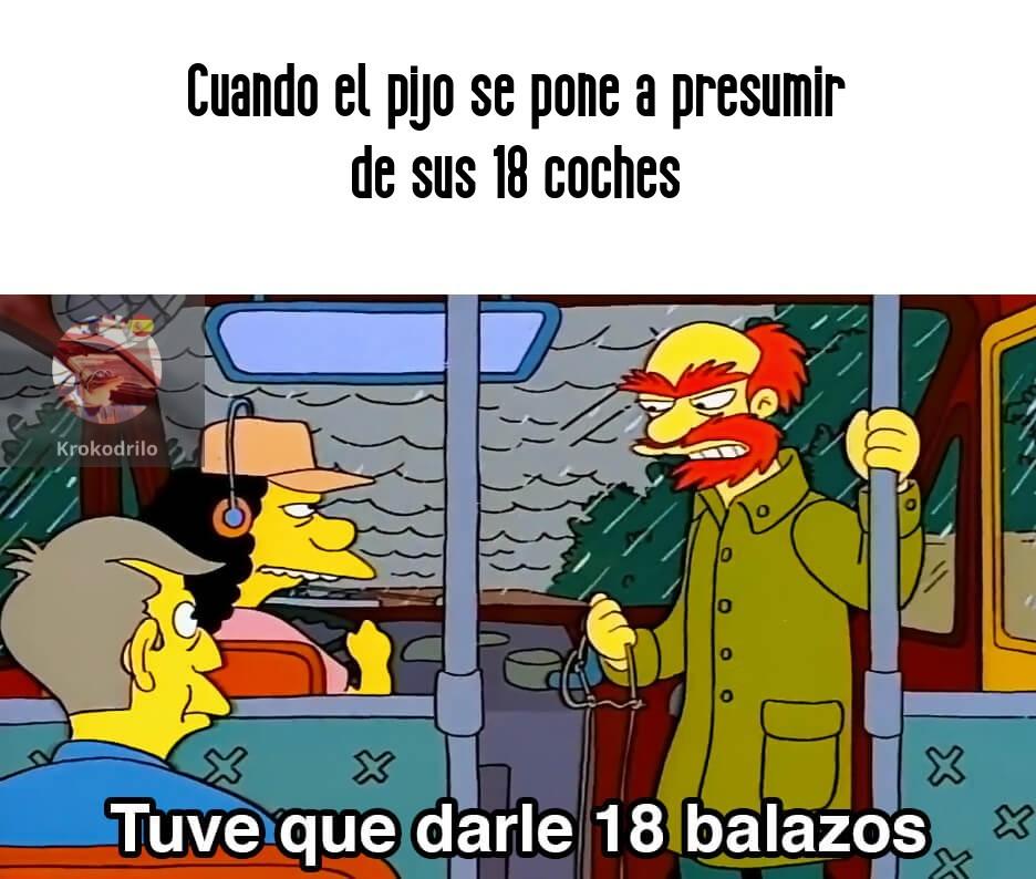 Balazos - meme