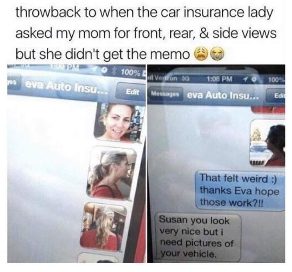 Insurance is a scam - meme