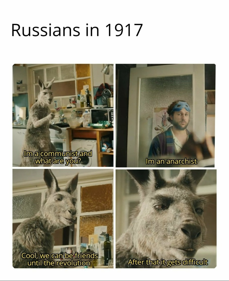 And the revolution came... - meme