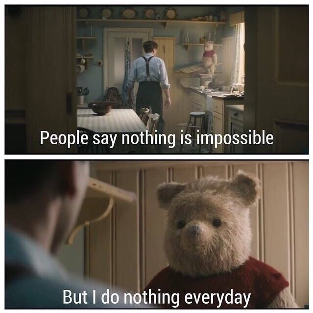 Pooh spittin facts - meme