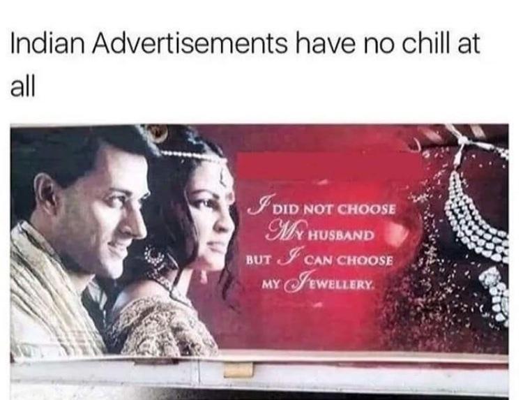 arranged marriage - meme