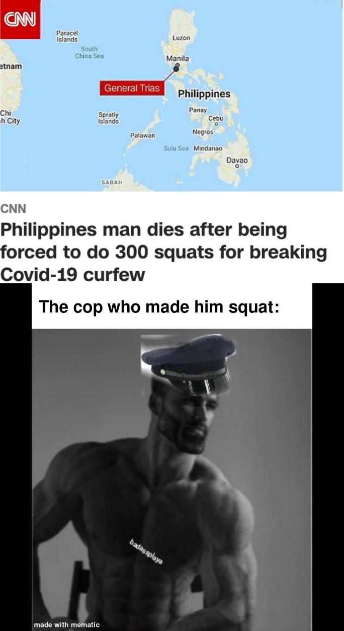 The Philippines is harsh - meme