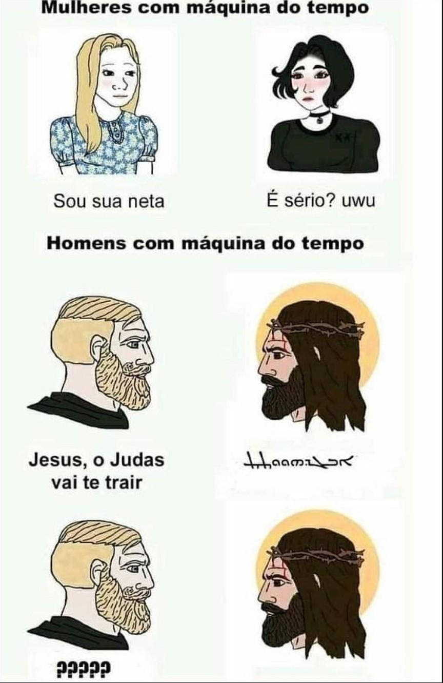 Jesus Chad - meme