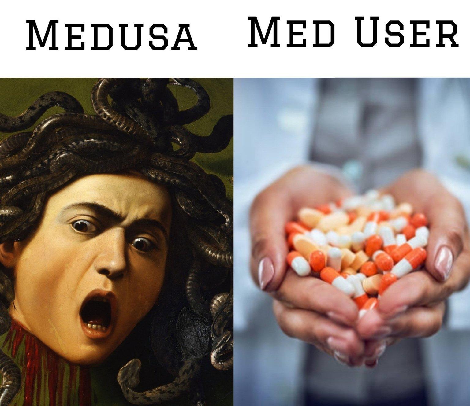 Med med - meme