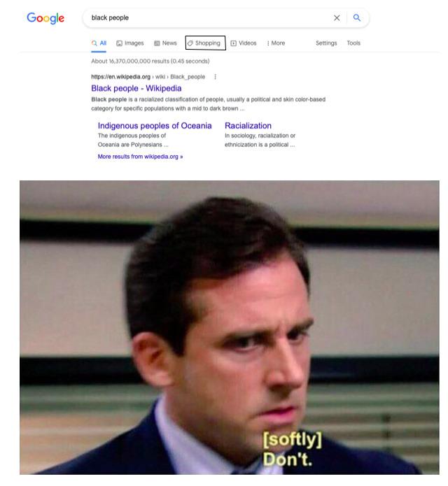 Why Google - meme