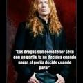 Las drogas según Dave Mustaine
