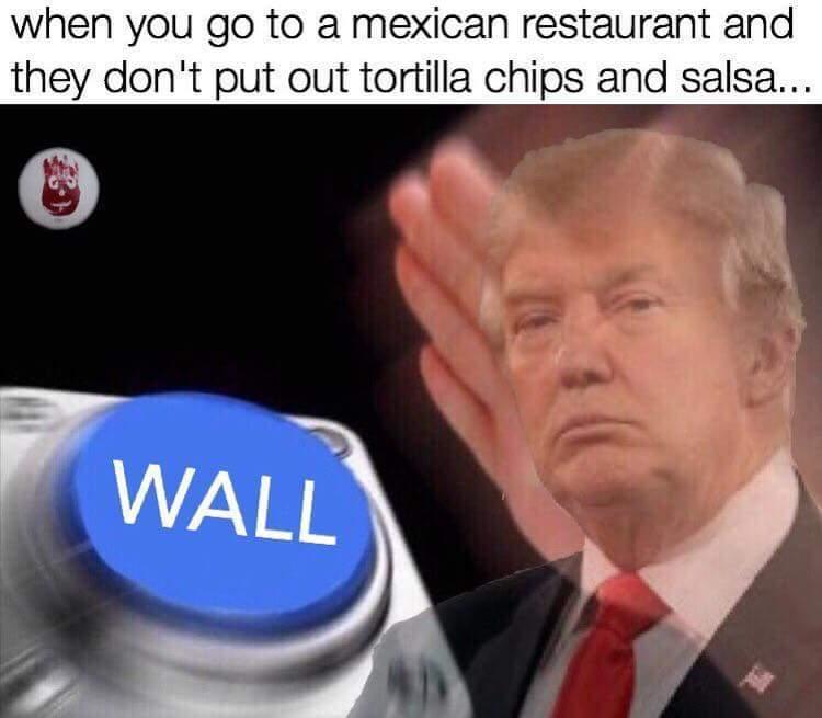 Wall wallpaper - meme