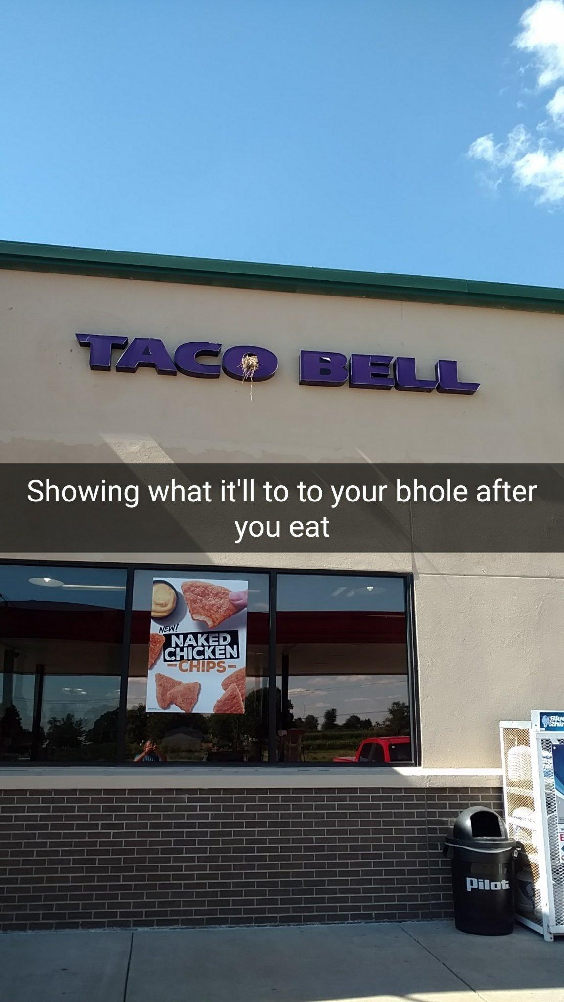#7, soft taco with a baja blast please