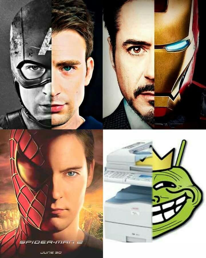 La mejor copiadora que existe - meme