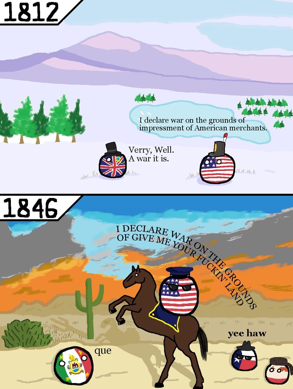 How war is declared - meme