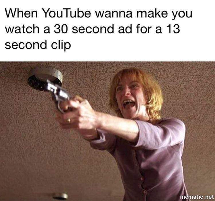 Youtube Ads - meme