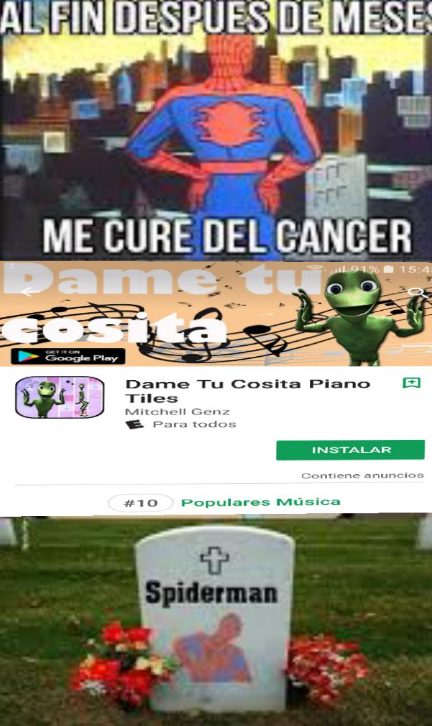 Al Titulo le agarro cancer tambien - meme
