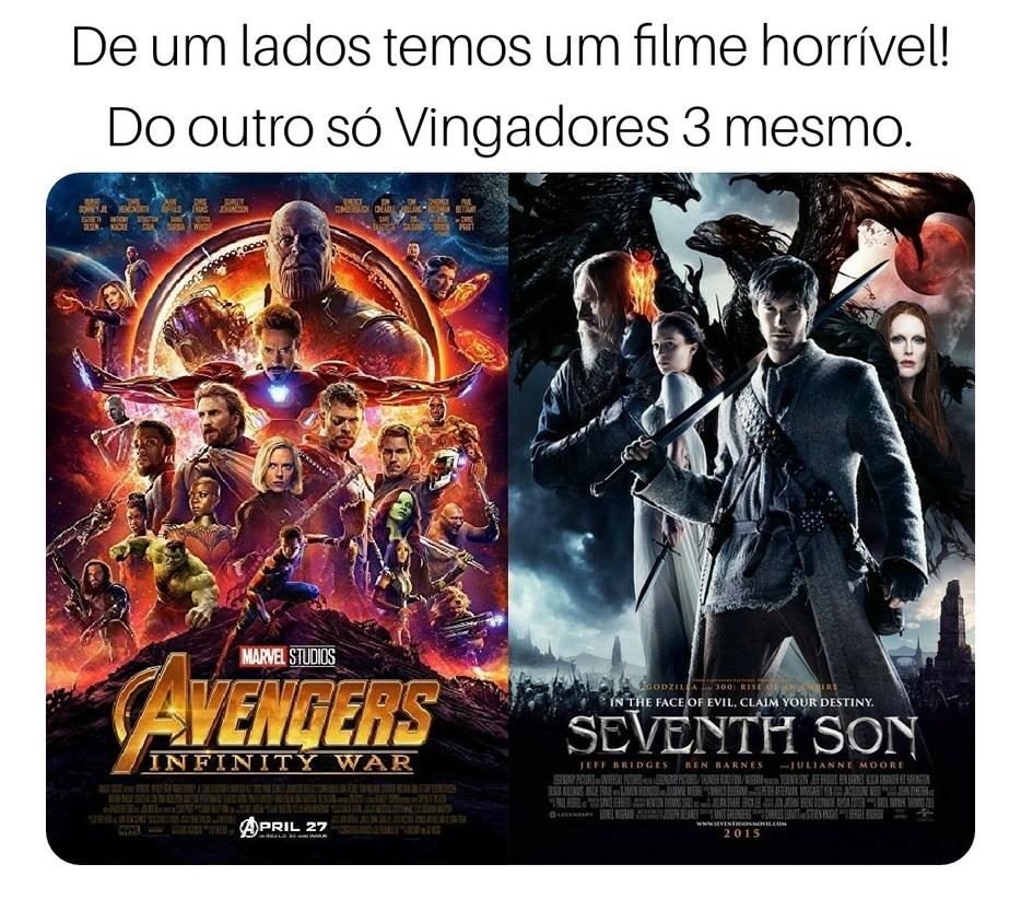 Pior filme da existência - meme
