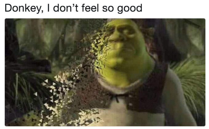 Shrek thanos - meme
