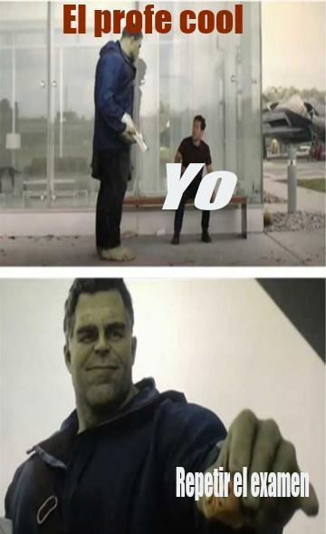 Hulk buena onda - meme