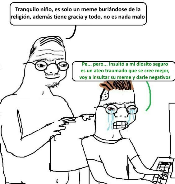 Lagrimas - meme
