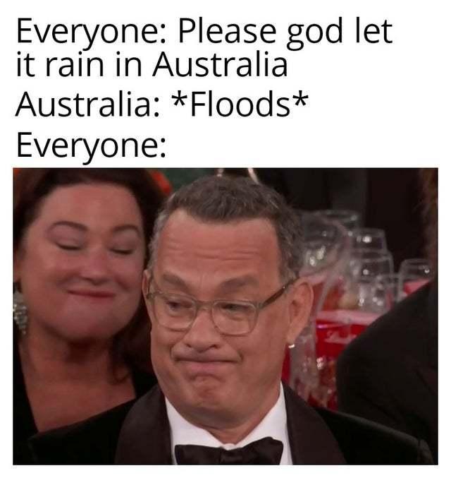 Australian Floods - meme