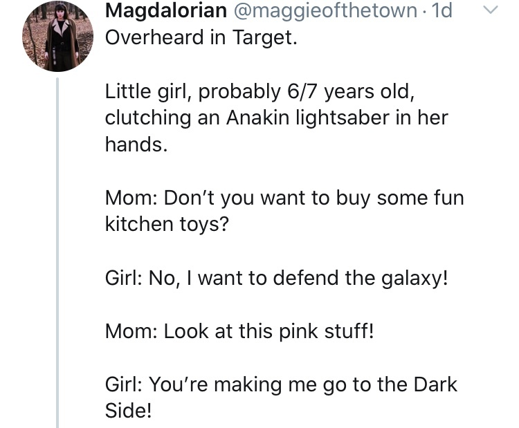 you're making me go to the dark side - meme