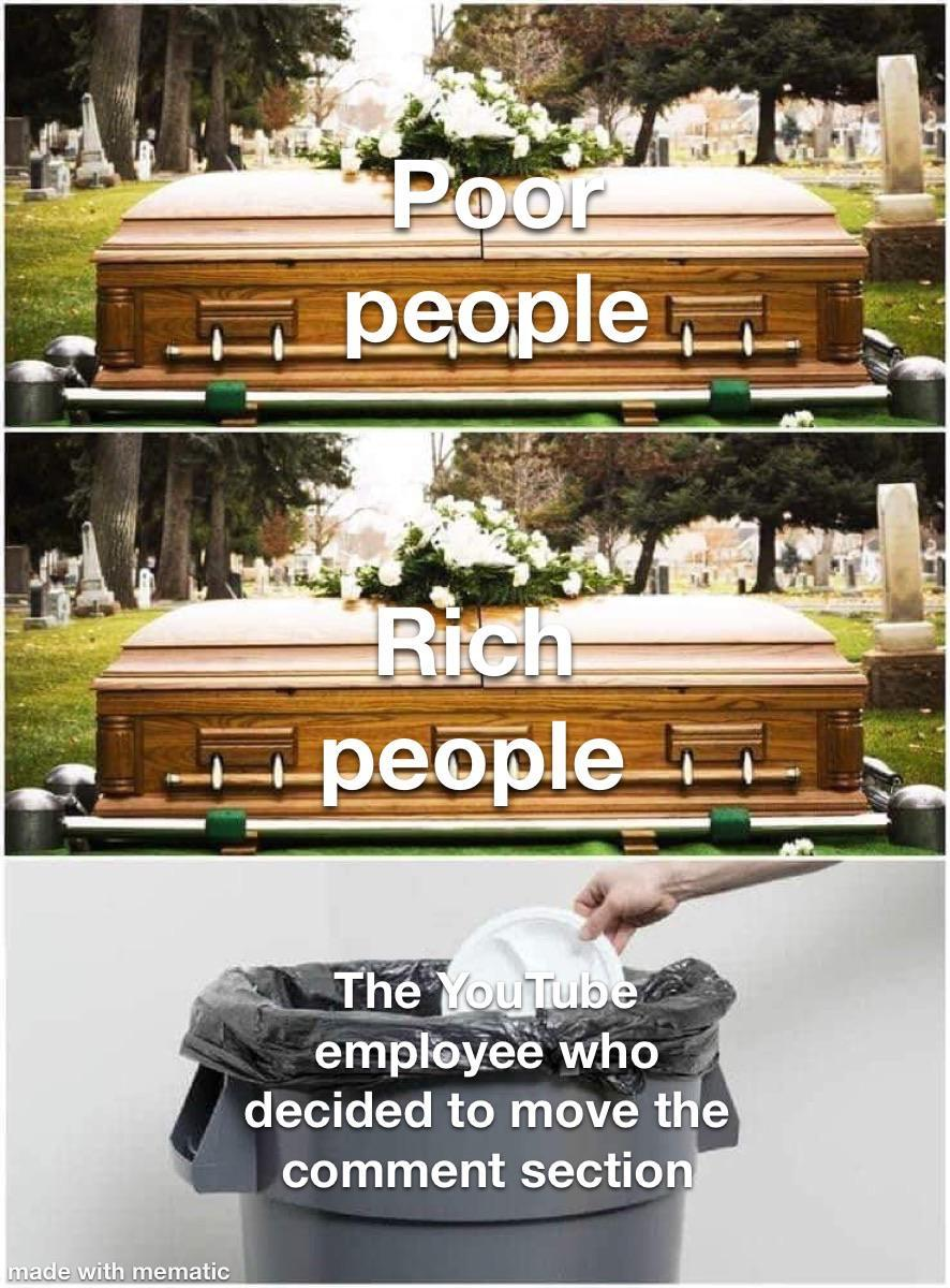 they are trash - meme